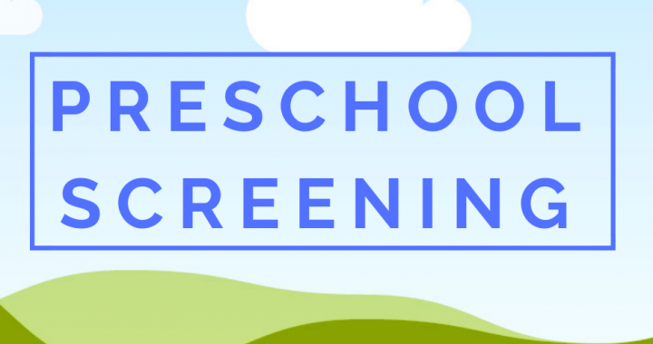 Read more about the article Preschool Screening